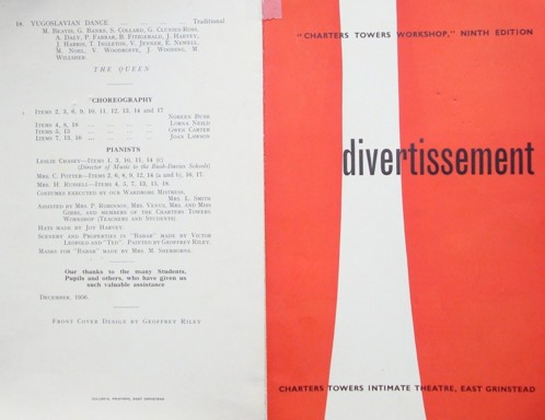 Programme: Divertissement 1 and 4