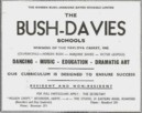 Advertisement  in Dancing Times