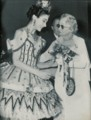 Dame Margot with Dame Adeline