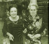 Noreen with Dame Ninette